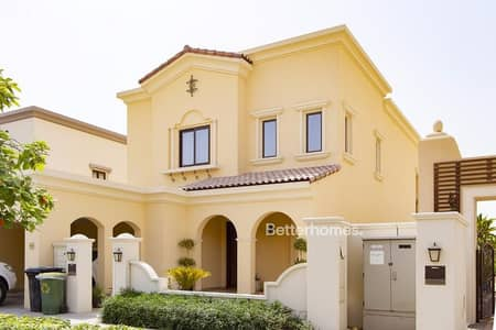 3 Bedroom Villa for Sale in Arabian Ranches 2, Dubai - Single Row | Type 1 | Rented | Dark wood
