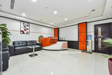 Office for Sale in Arjan, Dubai - Tenanted | 4% Return | Fully Fitted Office