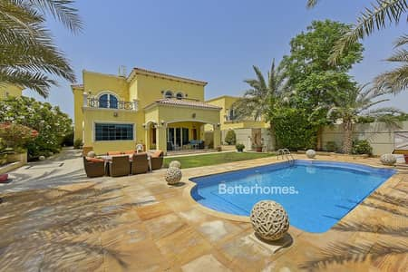 5 Bedroom Villa for Sale in Jumeirah Park, Dubai - Vacant on Transfer  |  Upgraded Property