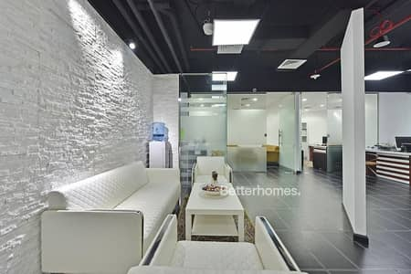 Office for Sale in Sheikh Zayed Road, Dubai - Fitted Office High Floor Close to Metro