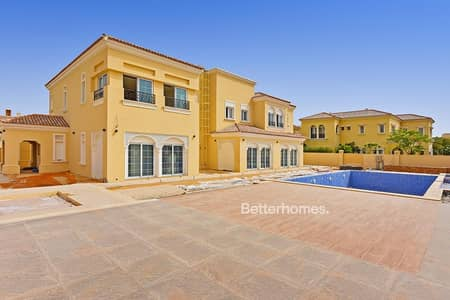 7 Bedroom Villa for Sale in Arabian Ranches, Dubai - Brand New | Type F | Huge Plot | Vacant | Pool