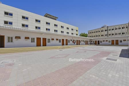 Labour Camp for Sale in Muhaisnah, Dubai - Labor Camp G+2 | 332 Labourers | Vacant
