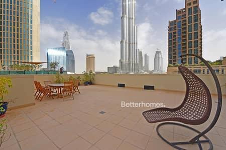 3 Bedroom Flat for Sale in Downtown Dubai, Dubai - Large Terrace |  Duplex | 3 Bed + Maids