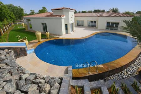 4 Bedroom Villa for Sale in Green Community, Dubai - Swimming Pool | Large Plot | Vacant