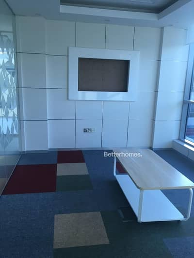 Office for Rent in Al Quoz, Dubai - Fully Fitted Office on SZR I Right on the Metro