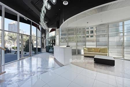 Shop for Rent in Dubai Marina, Dubai - Superior Location Fitted Office in Dubai Marina