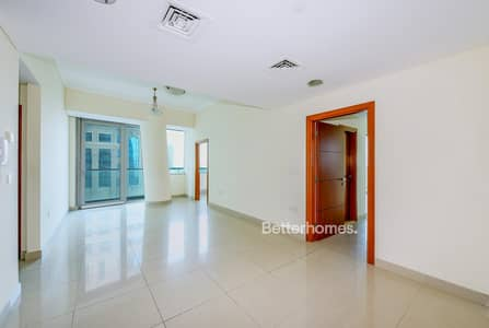 3 Bedroom Flat for Rent in Dubai Marina, Dubai - Sea Views 2 Bed with Study in Ocean Heights