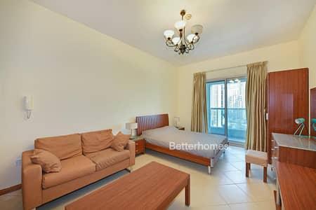 Studio for Rent in Dubai Marina, Dubai - Marina Diamond 3 - Fully Furnished