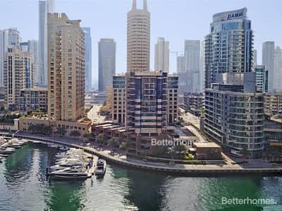 1 Bedroom Apartment for Sale in Dubai Marina, Dubai - Marina View | Mid Floor | Tenanted
