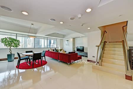 2 Bedroom Apartment for Sale in World Trade Centre, Dubai - Furnished | 2 Bed Duplex apartment | Vacant