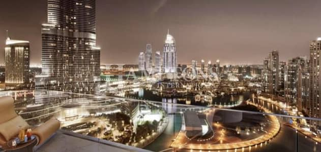 4 Bedroom Apartment for Sale in Downtown Dubai, Dubai - Luxury 4BR Penthouse + 7 years Payment Plan