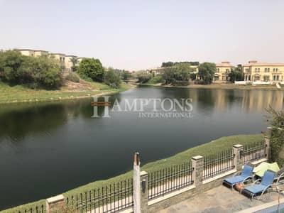 4 Bedroom Villa for Sale in Jumeirah Park, Dubai - Full Lake View   Landscaped 4BR + M Villa