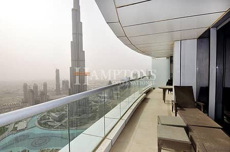 4 Bedroom Flat for Sale in Downtown Dubai, Dubai - Full floor in Address Downtown