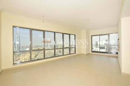 2 Bedroom Flat for Sale in Downtown Dubai, Dubai - Largest 2BR + Study in South Ridge