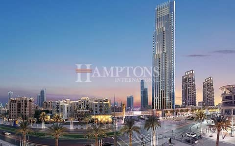 2 Bedroom Apartment for Sale in Downtown Dubai, Dubai - High Floor   Large 2BR   Boulevard Point