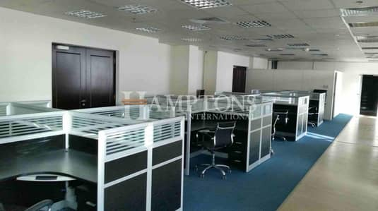Office for Rent in Al Quoz, Dubai - Fitted Offices |650-6000 SqFt.| Metro Access