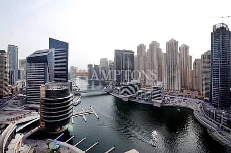 Studio for Sale in Dubai Marina, Dubai - Full Marina View   Furnished Studio