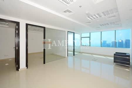 Office for Rent in Jumeirah Lake Towers (JLT), Dubai - Fitted with Partitions | High Floor