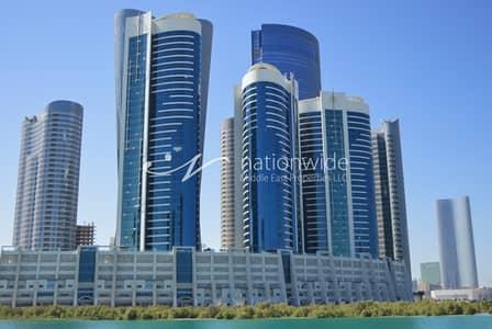 2 Bedroom Flat for Sale in Al Reem Island, Abu Dhabi - Hot Offer! Huge and Semi-Furnished 2 BR