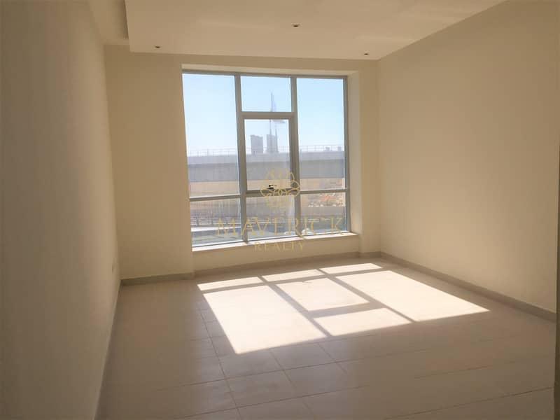 2 Partial Sea View | Bright Studio | 4 Cheques | Dubai Marina