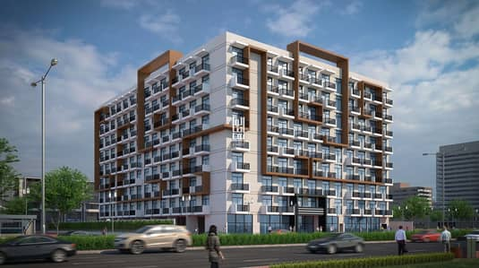 2 Bedroom Flat for Sale in Arjan, Dubai - Lowest  Price 2BR in Elz Residence