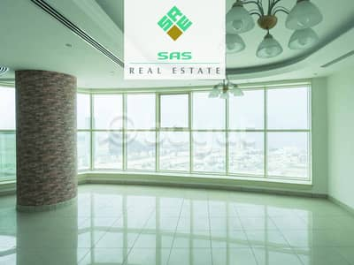 5 Bedroom Apartment for Rent in Corniche Al Buhaira, Sharjah - Bin Dhaen Tower ''A stunning sea view for residential duplex apartment''