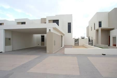 4 Bedroom Townhouse for Sale in Town Square, Dubai - Qudra Facing Single Row Type 8  4BR + Maid Hayat Town Square by Nshama