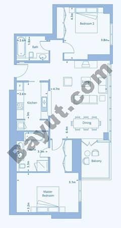 2 Bedroom Suite 5