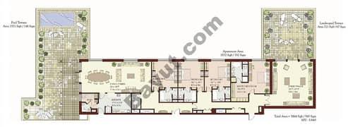 4 Bedrooms Terrace Apartment
