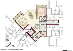 4 Bedrooms Duplex Lower Level
