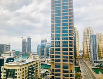 2 Bedroom Flat for Sale in Dubai Marina, Dubai - 2BR with Marina view close to metro & beach