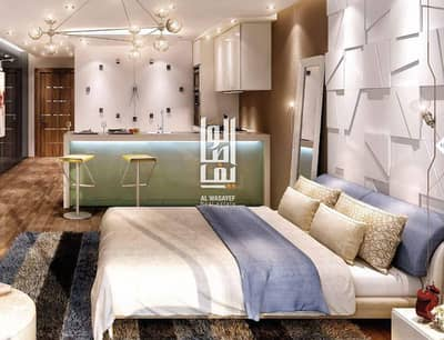 1 Bedroom Flat for Sale in Jumeirah Village Triangle (JVT), Dubai - own a luxury apartment at elegant building in the heart of the JVT
