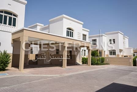 3 Bedroom Villa for Rent in Al Ghadeer, Abu Dhabi - 3+1 Single Row I Garden View I 2 Cheques