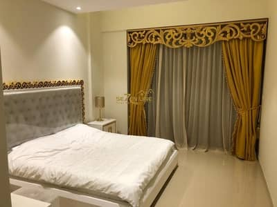 1 Bedroom Flat for Rent in Jumeirah Village Circle (JVC), Dubai - Exclusive & Semi Furnished 1 Bed plus Study