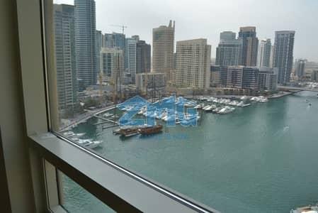 2 Bedroom Apartment for Rent in Dubai Marina, Dubai - Marina View I Vacant I Spacious Size  Apt