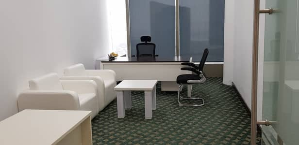 Office for Rent in Sheikh Zayed Road, Dubai - Stragetic Location-Close To Metro-Furnished Office Dewa-Internet Free