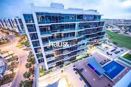 1 Bedroom Apartment for Rent in DAMAC Hills (Akoya by DAMAC), Dubai - Luxury Furnishing | Top Floor | 4 Chqs |