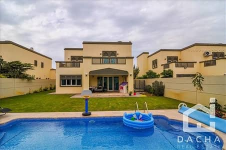 4 Bedroom Villa for Rent in Jumeirah Park, Dubai - Great Location - 4 Bed Regional Villa with Swimming Pool