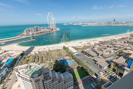 1 Bedroom Apartment for Sale in Dubai Marina, Dubai - Full Marina View Upgraded Large 1BR
