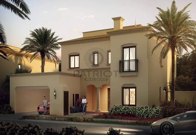 9 Beautiful Lush 3 Bedroom Villa in Dubailand
