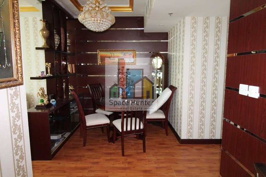 Luxurious fully furnished 2BR + maid rooms -JLT