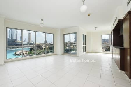 2 Bedroom Apartment for Sale in Downtown Dubai, Dubai - 2 Bed in The Residences 6 with Burj Khalifa View