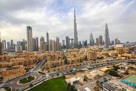 2 Bedroom Flat for Sale in Downtown Dubai, Dubai - Burj Khalifa View | Vacant | 2 Bed | Study