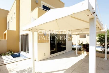 4 Bedroom Villa for Rent in Al Raha Gardens, Abu Dhabi - Peaceful Home with Private Garden and Pool