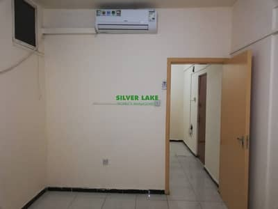 Studio for Rent in Al Falah Street, Abu Dhabi - LARGE STUDIO TYPE WITH BALCONY INCLUSIVE WATER AND ELECTRICITY CHARGES  33K 4 PAYMENTS