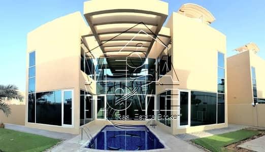 5 Bedroom Villa for Rent in Khalifa City A, Abu Dhabi - MODERN DESIGN !!! 5 Master BED VILLA W/POOL