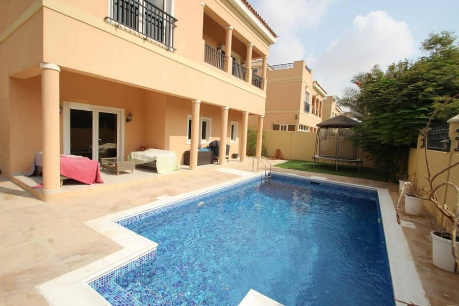 Dubai Land Mazaya A1 Ready villa for Sale with pool