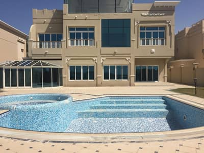 5 Bedroom Villa for Rent in Marina Village, Abu Dhabi - Awesome Luxury 4BR+1MR  Villa In Royal Marina with Private Pool