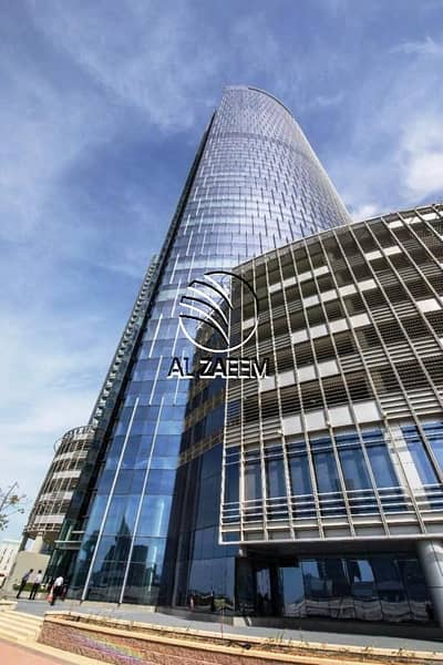 Office for Rent in Al Reem Island, Abu Dhabi - Office Space Available For Rent in Addax Tower!