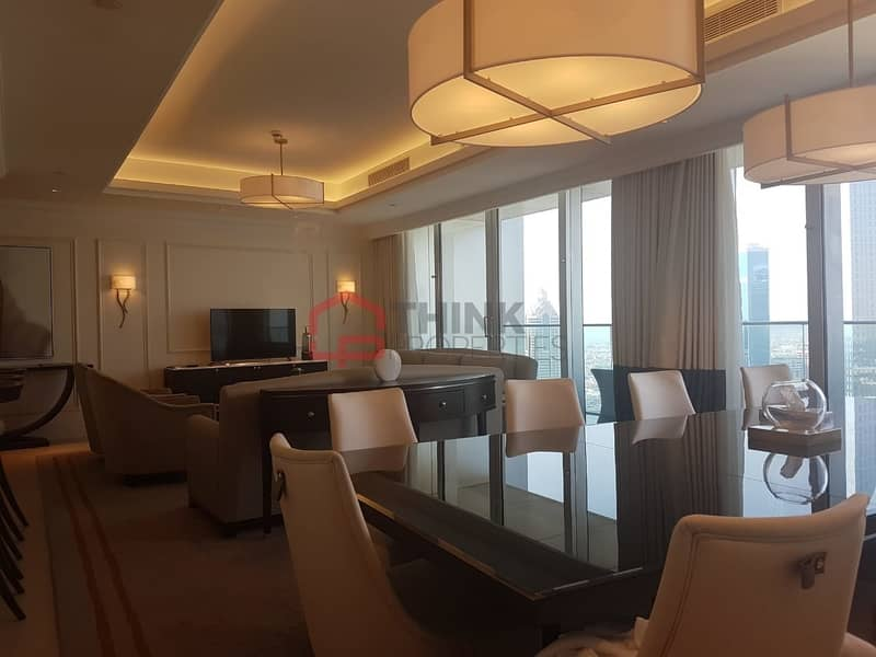 2 Rare 4BR+M Penthouse with DIFC Views
